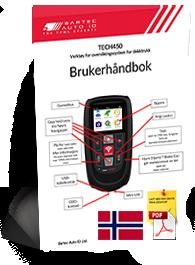 TECH450 User Manual Norwegian