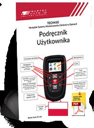 TECH450 User Manual Polish