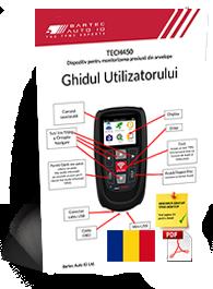 TECH450 User Manual Romanian