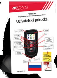 TECH450 User Manual Slovak