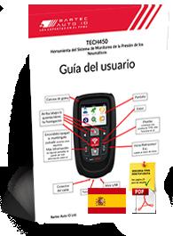 TECH450 User Manual Spanish