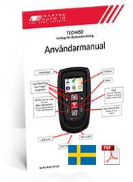 TECH450 User Manual Swedish