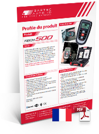 TECH500 Produktdatenblatt French