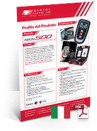 TECH500 Data Sheet Italian