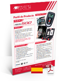 TECH500 Produktdatenblatt Spanish