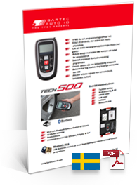 TECH500 Data Sheet Swedish