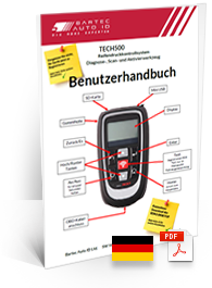 TECH500 User Manual German