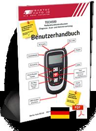 TECH500 User Manual German
