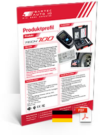TECH700 Datenblatt English