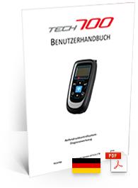 TECH700 Guida Utente German