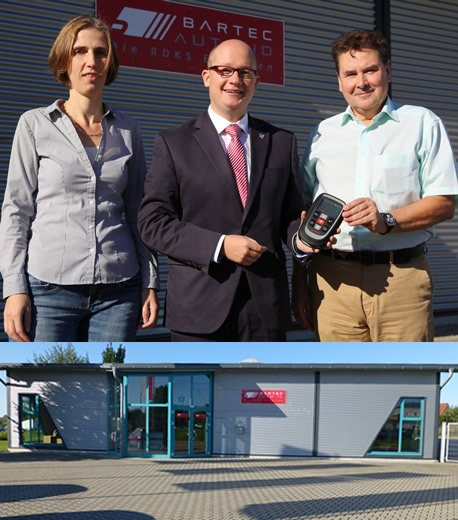 The Mayor Visits Bartec's GmbH Office