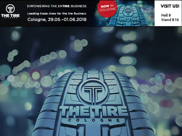 Bartec To Exhibit At The Tire Trade Show at Cologne In May 2018