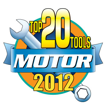October 2012 - MOTOR Magazine Top 20 Tools Award for Bartec USA TECH400SDE