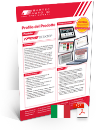 TPMS Desktop Data Sheet Italian