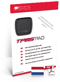TPMS PAD Data Sheet Dutch