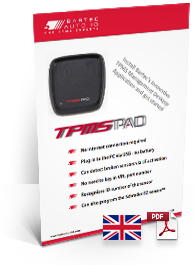 TPMS PAD Produktdatenblatt English