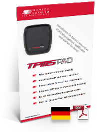 TPMS PAD Data Sheet German