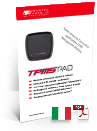 TPMS PAD Data Sheet Italian